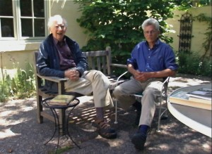 Eugene McDonnell and Larry Breed, Palo Alto May 2009