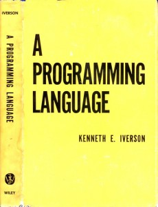 A Programming Language Page 001 230x300 Its APLs Birthday! Or is it?